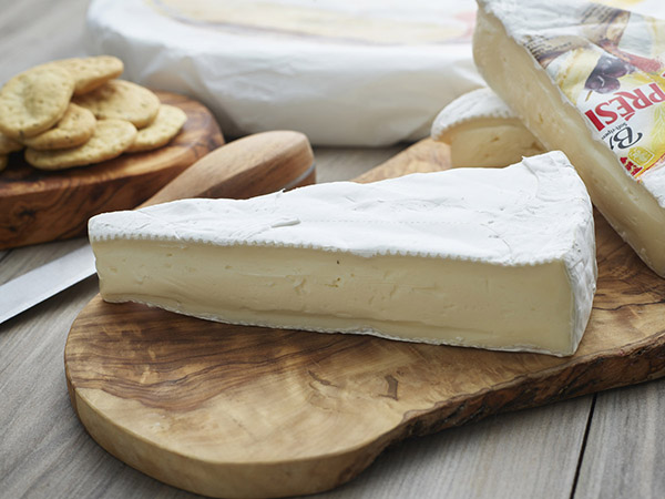 Brie President Double Creme Cheese