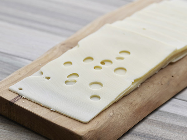 Imported Sliced Swiss Cheese