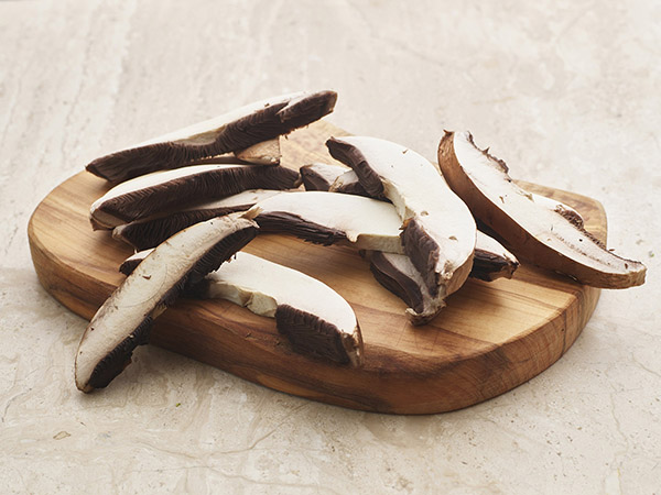 Sliced Portabello Mushrooms
