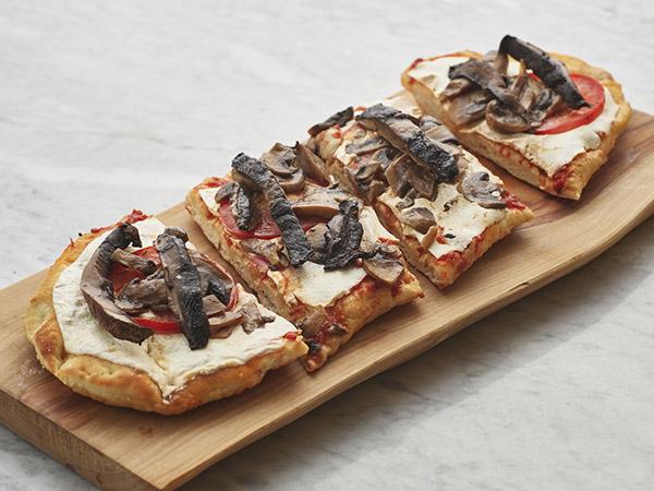 Flatbread Pizza Mushroom Marg
