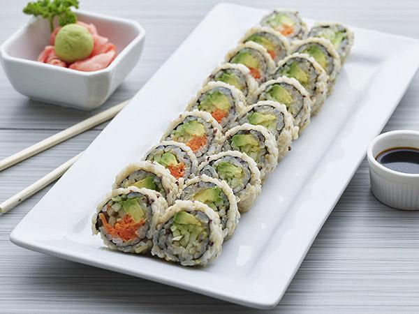 Brown Vegetarian Roll