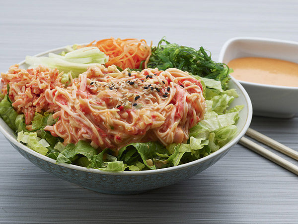 Spicy Crab Poke