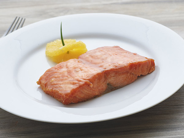 Salmon With Duck Sauce
