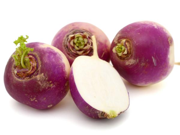 Turnips Waxed