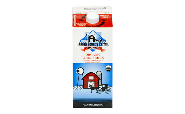 Amish Country Farms Organic Whole Milk