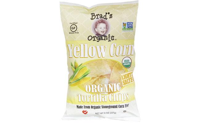 Brads Organic Sesame Yellow Corn Chips