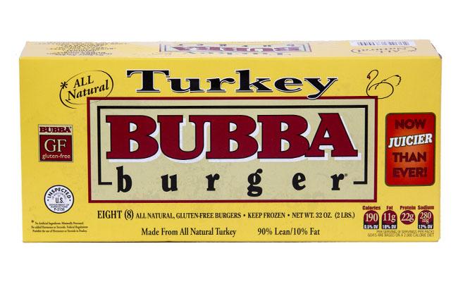 Bubba Foods Turkey Burger