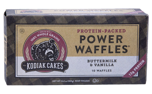 Kodiak Cakes Buttermilk & Vanila Power Waffles Protein Packed
