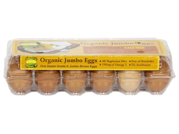 Sunshine Farms Organic Jumbo Eggs