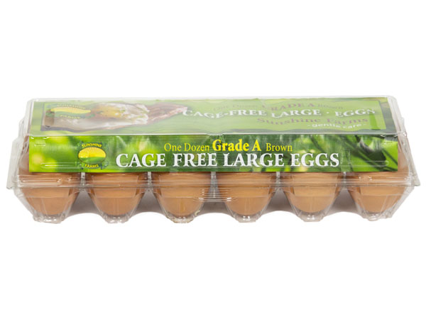 Sunshine Farms Cage Free XL Brown Eggs