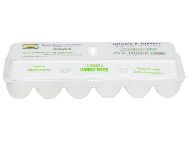 Sunshine Farms Jumbo Eggs