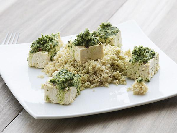 Grilled Tofu W/ Chimichurri