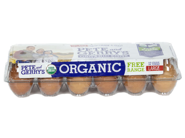 Pete And Gerrys Dozen Organic Large Eggs