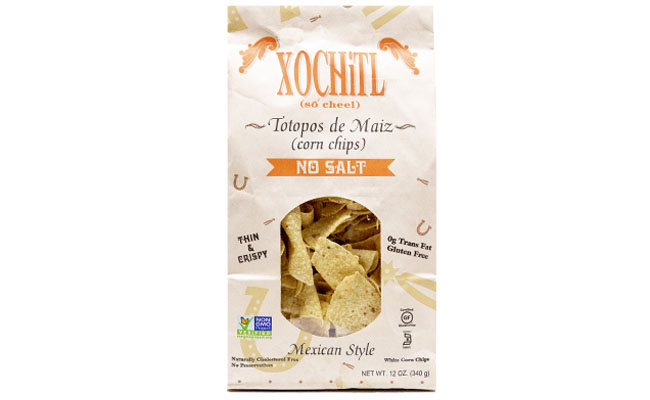 Xochitl No Salt Mexican Style Chips