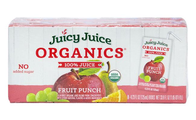 Organic Fruit Punch Juice 8 pack