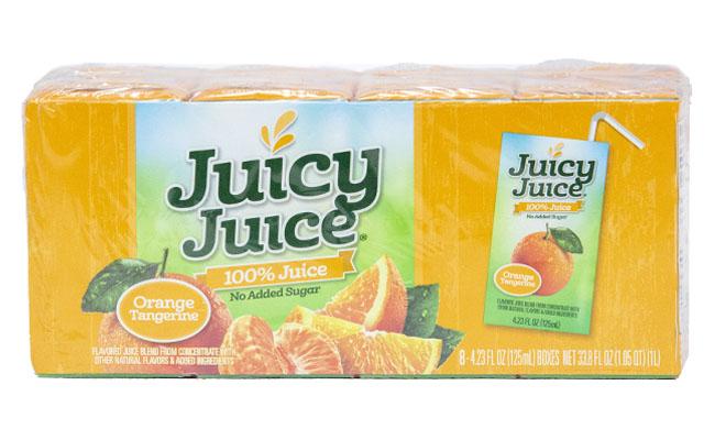 Juicy Juice Orange Tangerine 8 pack