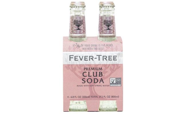 Fever Tree Club Soda 4pk-6.8 fl oz