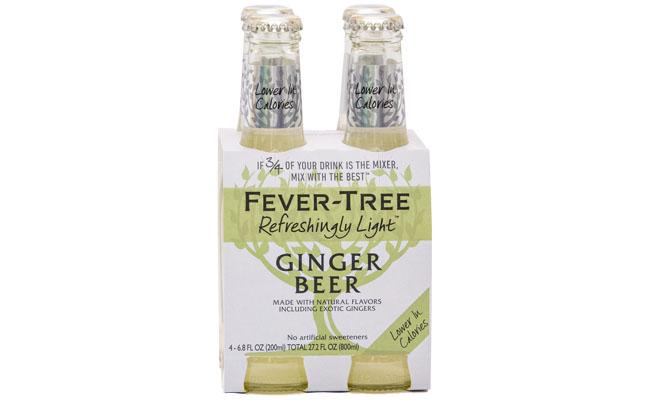 Fever Tree Ginger Beer Light 4pk-6.8 fl oz