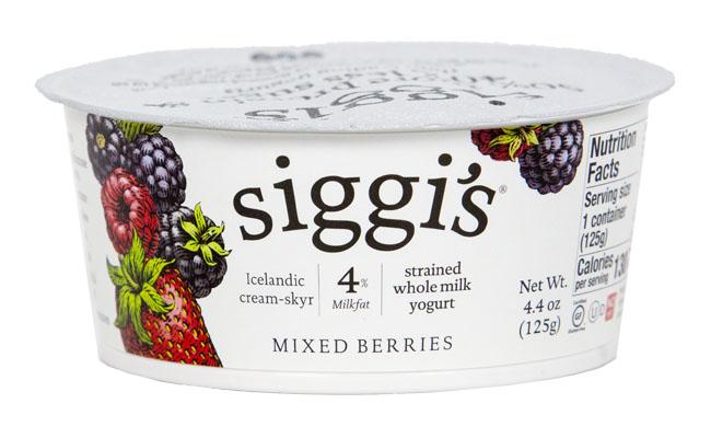 Siggis Yogurt Mixed Berry