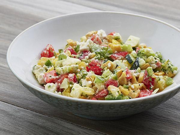 Hot and Sweet Corn Salad