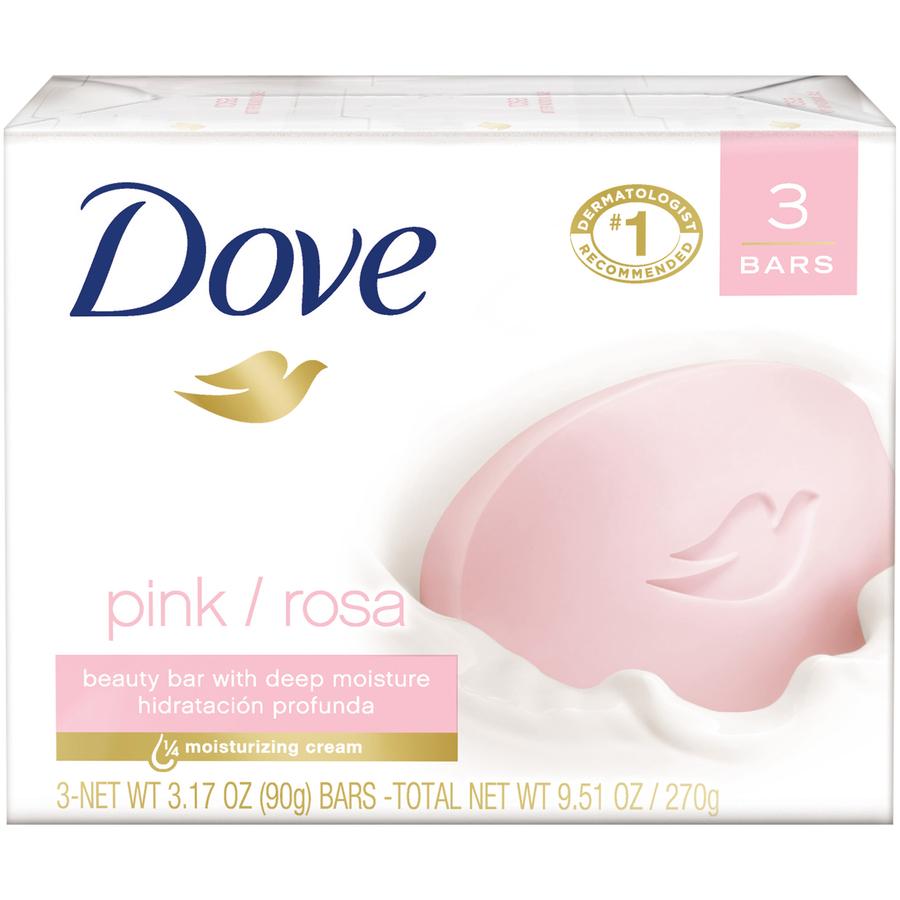 Dove Rosa 3Pk