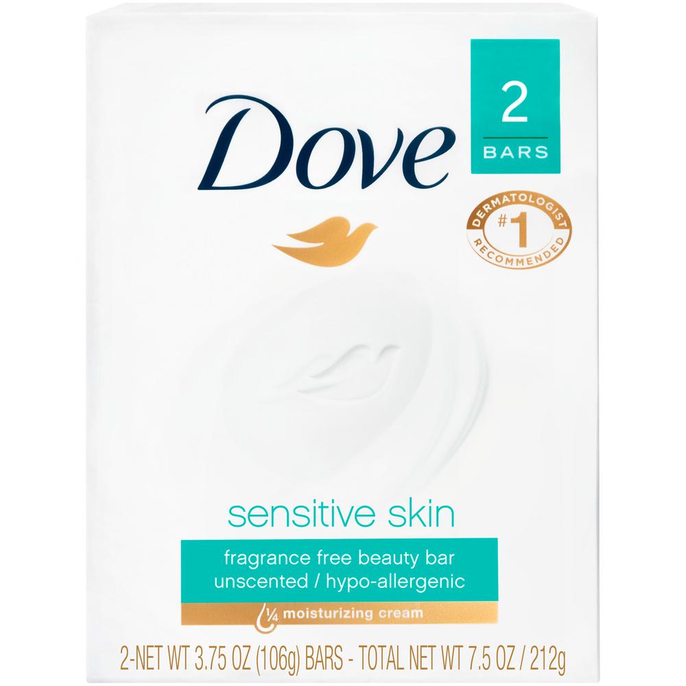 Dove Sensitive Bar 2 pack