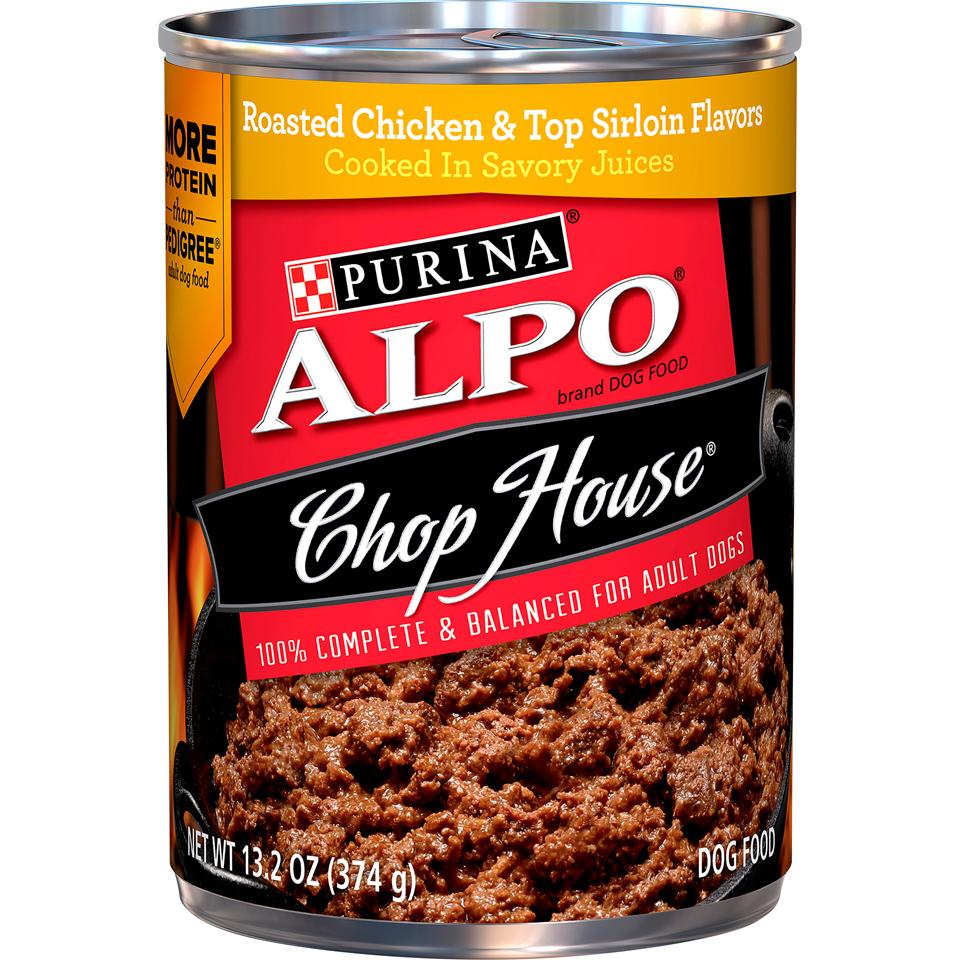 Alpo Dog Food Chop House Chcken