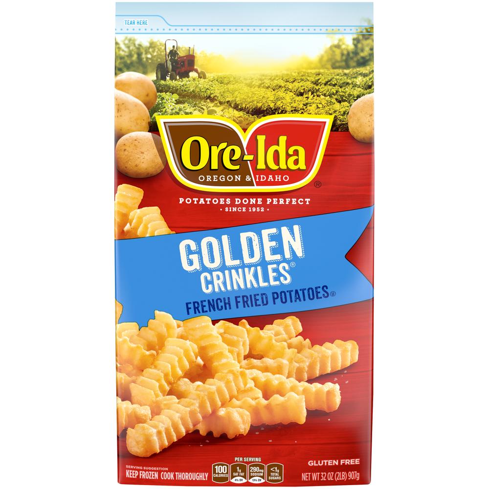 Oreida Golden Crinkl