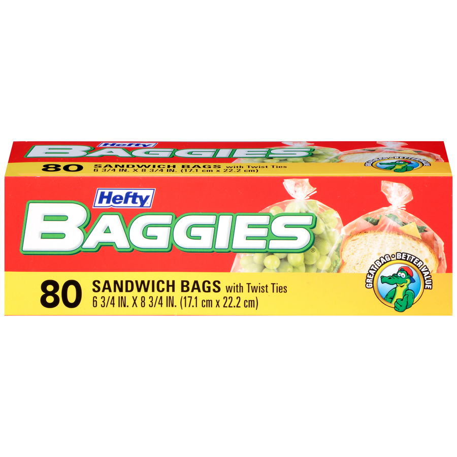 Baggies Sandwich Bag