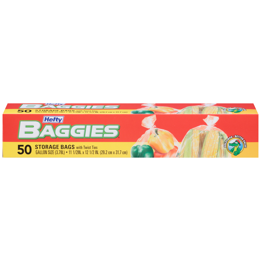 Baggies Food Storage