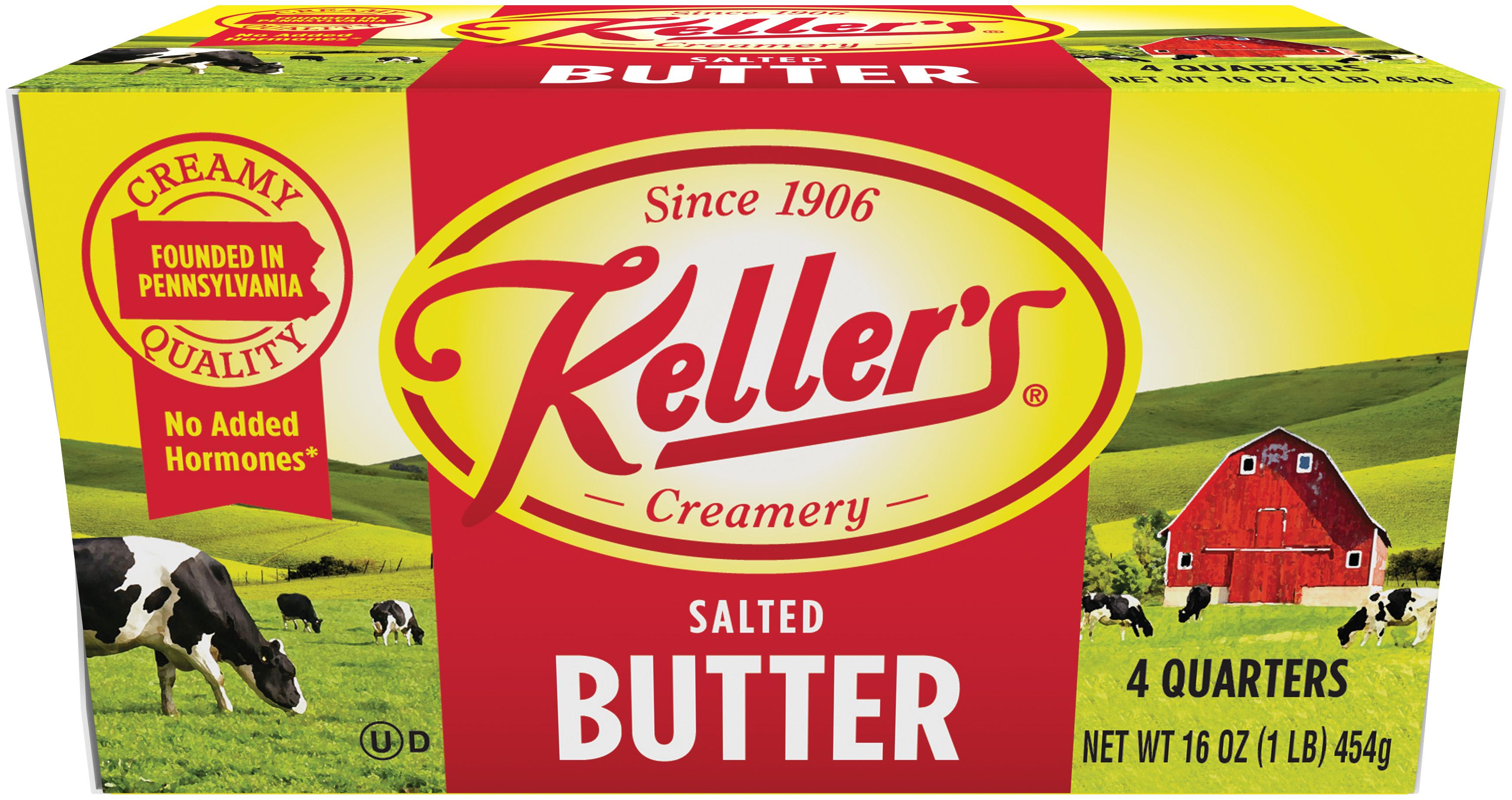Keller's Butter Quarters Salted