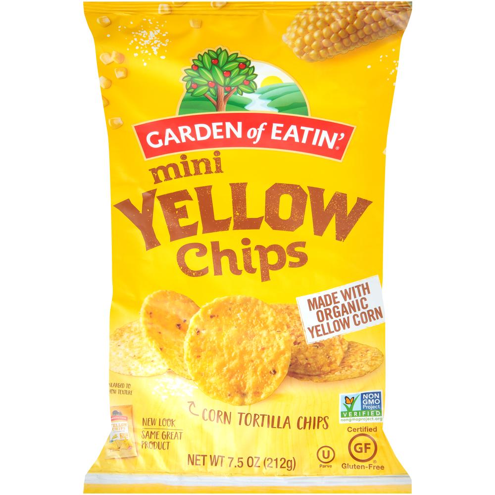 Garden of Eatin' Mini Yellow Rounds
