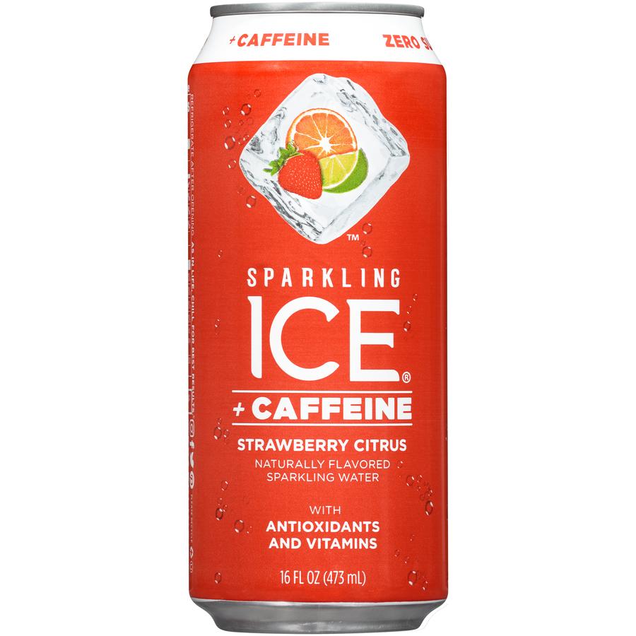 Strawberry Citrus Ice Caff