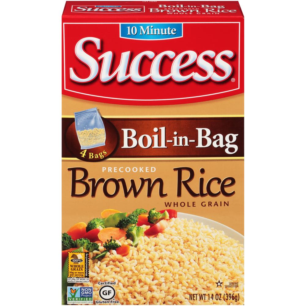 Success Brwn Rice In