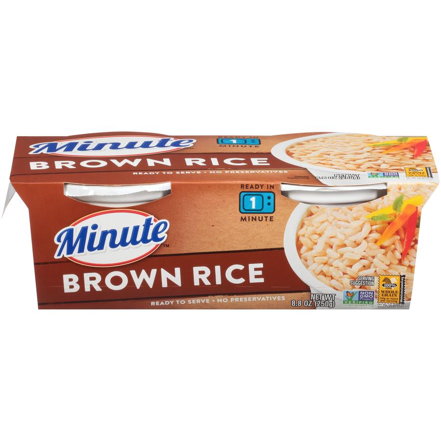 Minute Rice Brown Rice 2pk