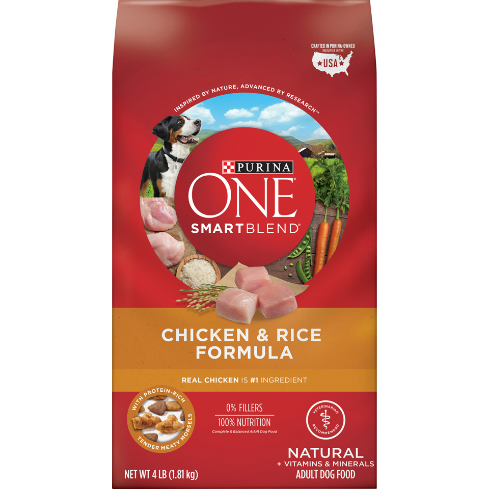 Purina One Dog Food Chicken Rice