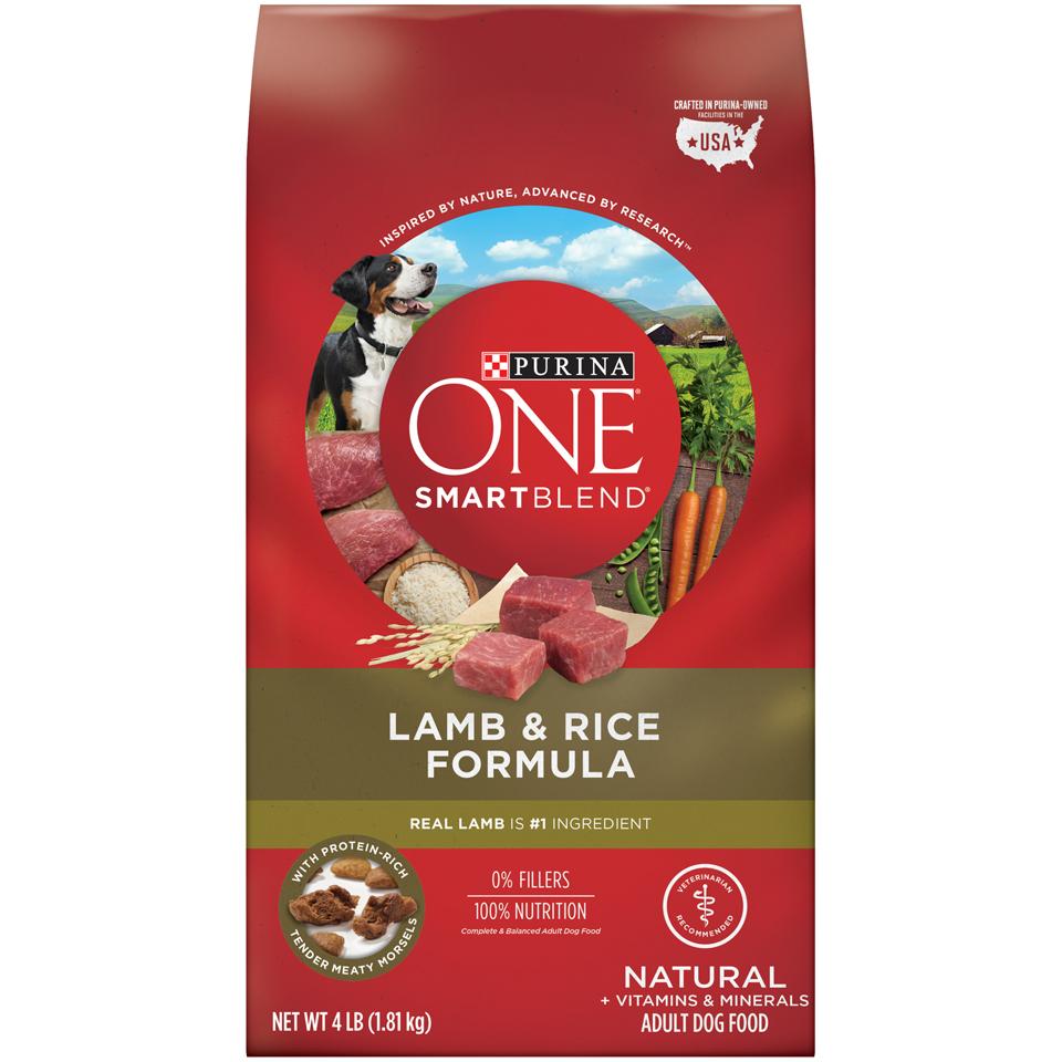 Purina One Dog Food Lamb & Rice