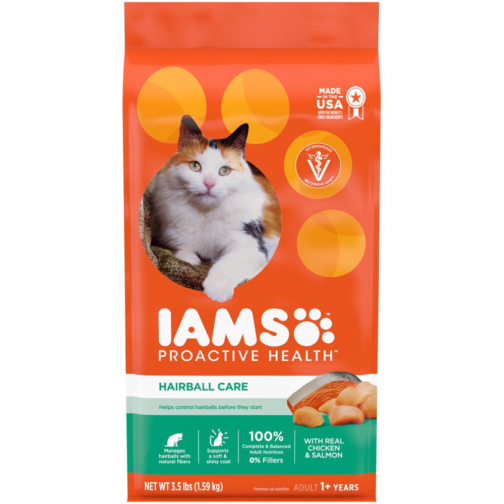 Iams Cat Food Hairball Care