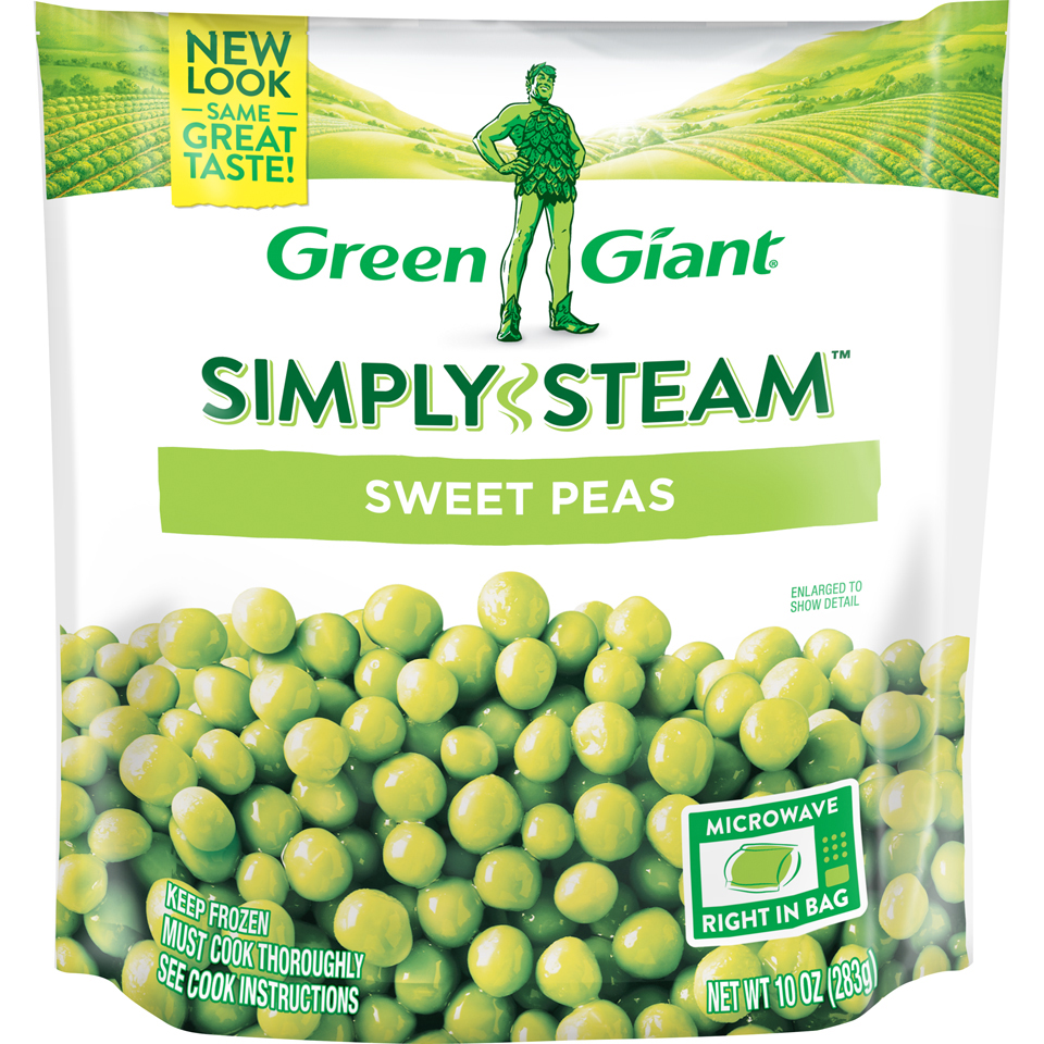 Green Giant Sweet Pea Steamers