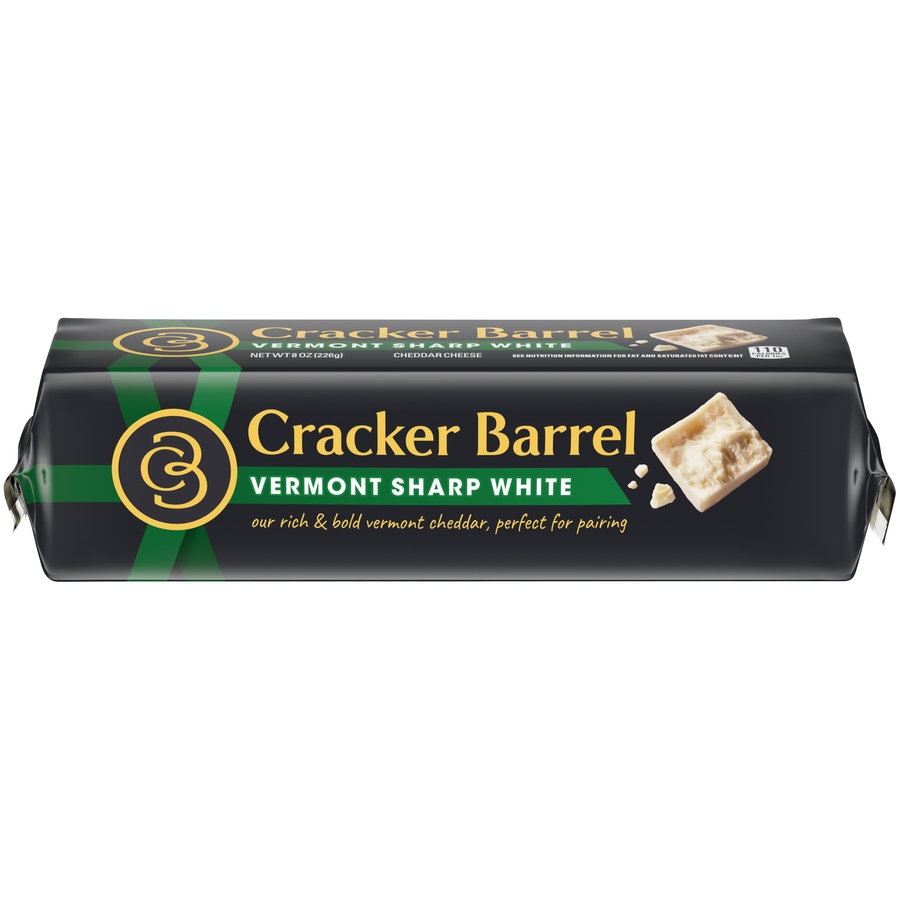 Cracker Barrel Cheese Vermont White Cheddar Chunk