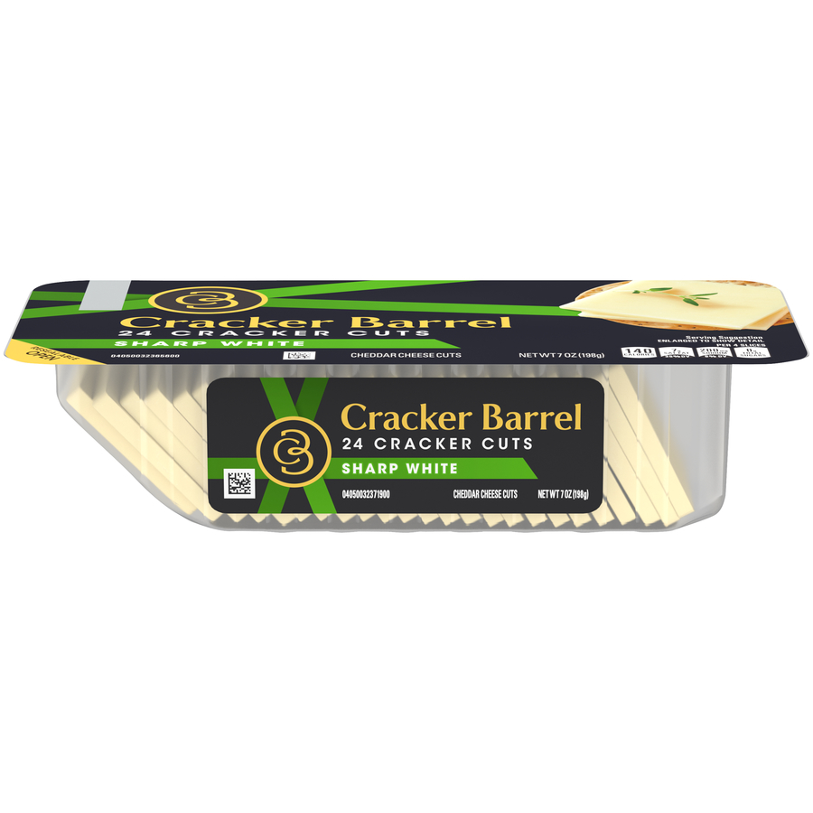 Cracker Barrel Sharp White Cheddar Cheese Cracker Cuts