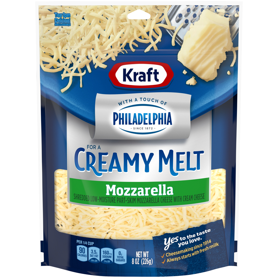 Kraft Shreds Mozzarella