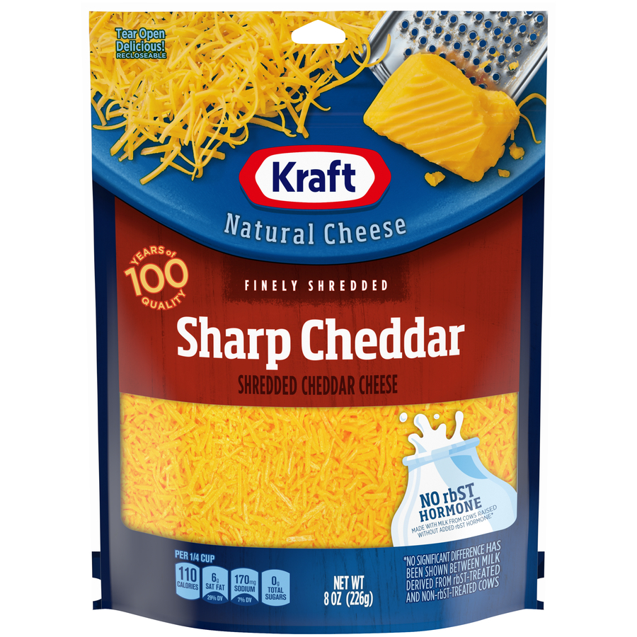 Kraft Shred Sharp Cheddar Cheese