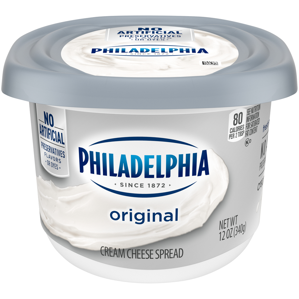 Kraft Philadelphia Cream Cheese 1/3 Less Fat