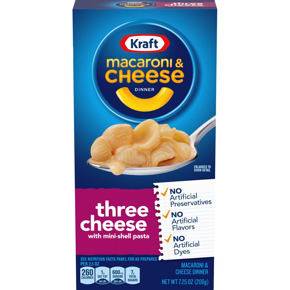 Kraft 3 Cheese Mac & Cheese