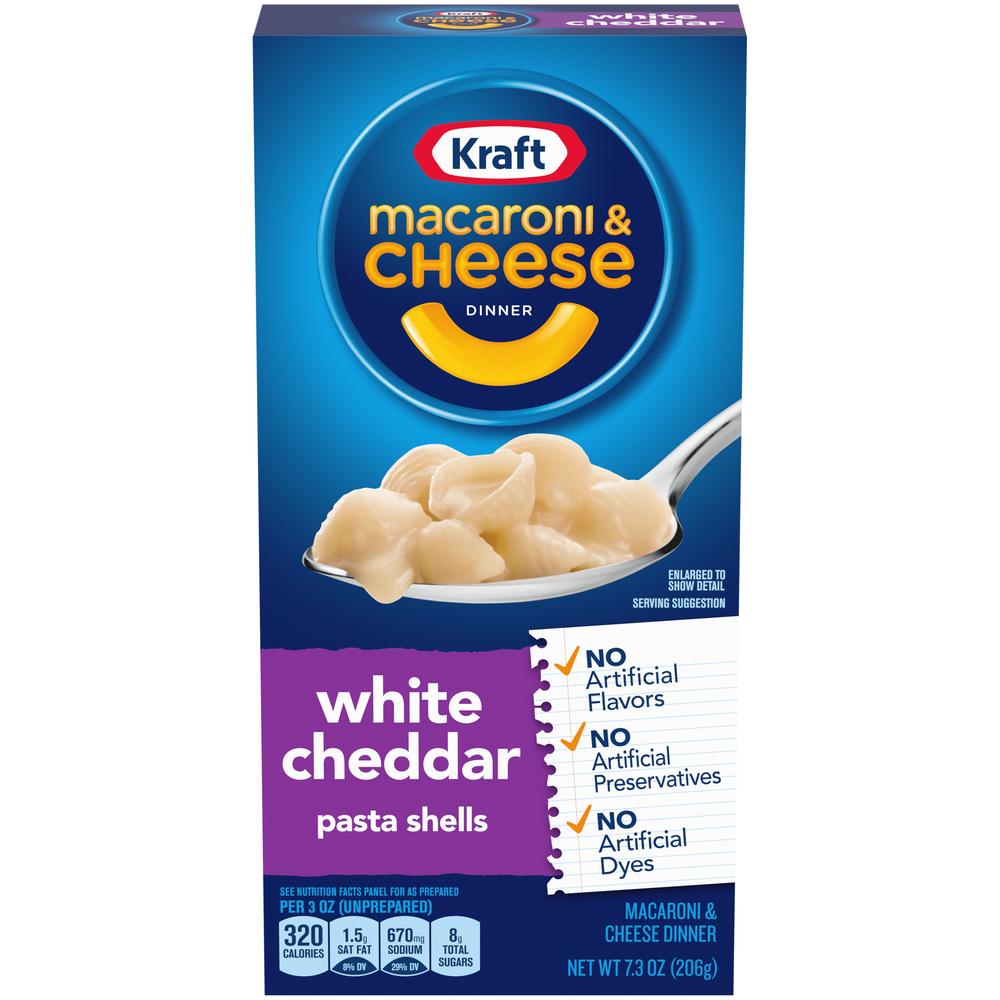 Kraft White Cheddar Mac & Cheese
