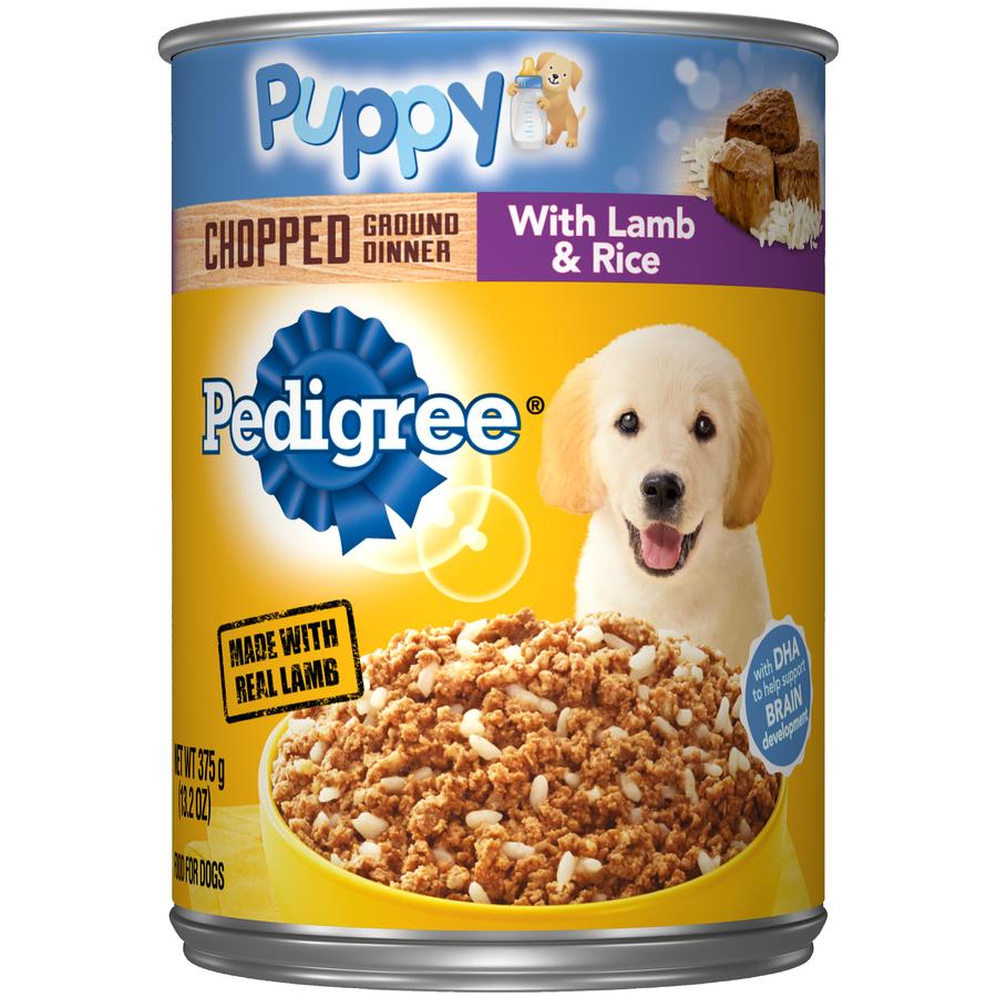 Pedigree Puppy Lamb/