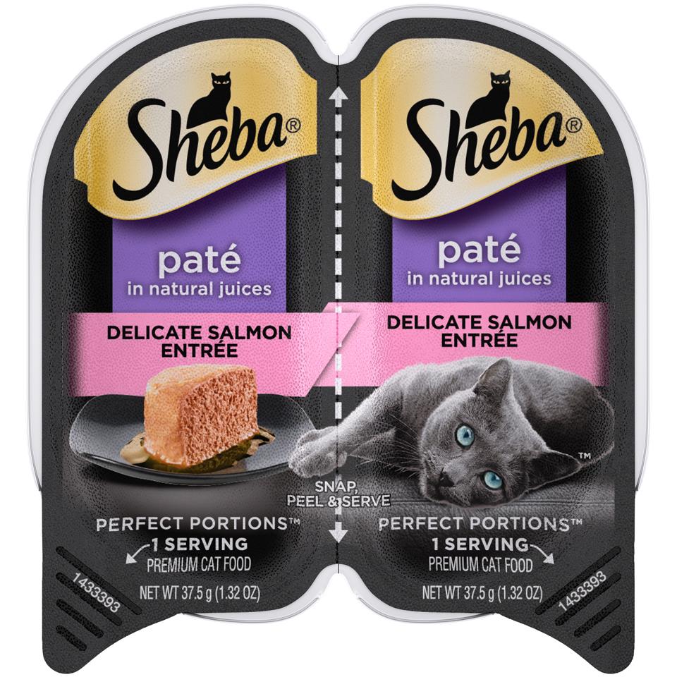 Sheba Cat Food Salmon