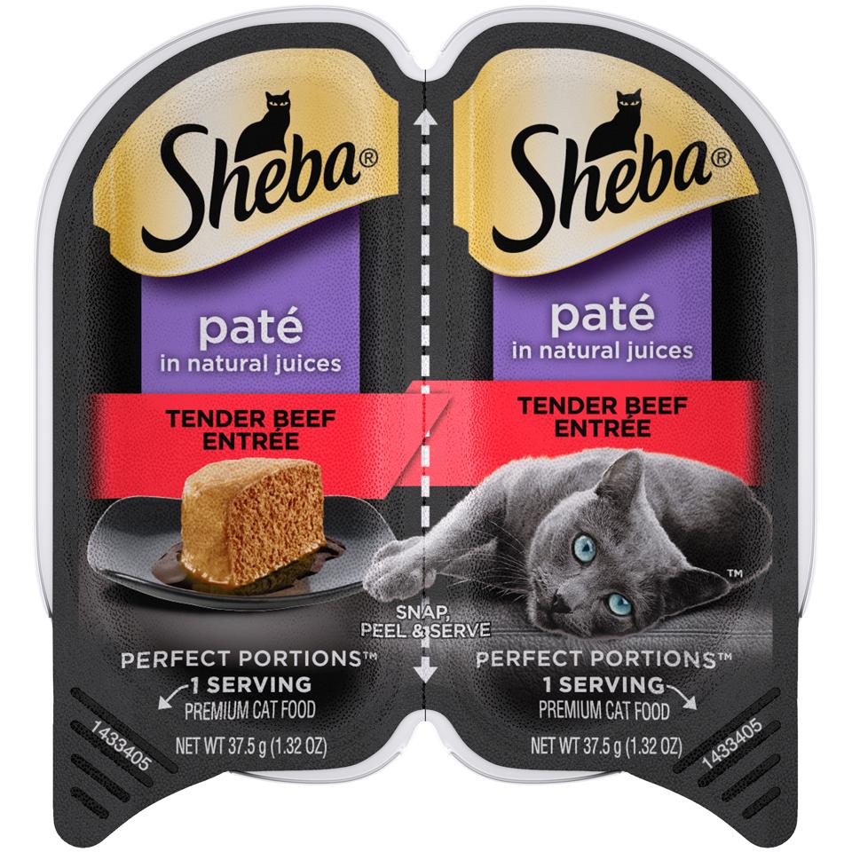 Sheba Cat Food Beef