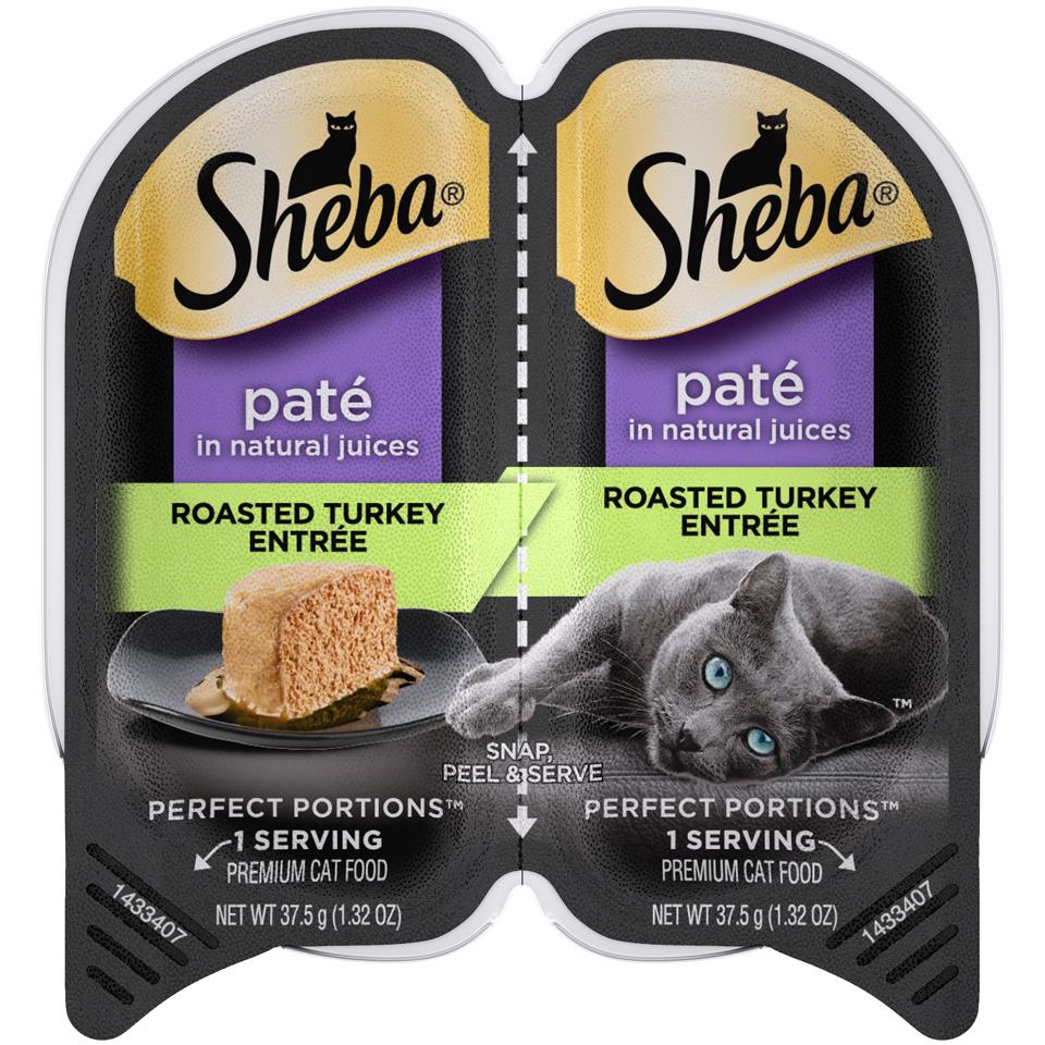 Sheba Cat Food Turkey